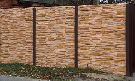 Забор из Сварной сетки - Секции ограждения (Zn + покрытие) : цена ... | 274x456